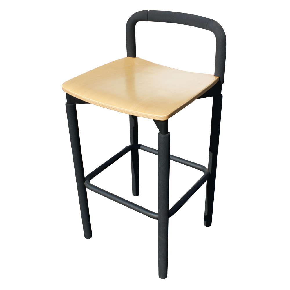 Metro Steelcase Maple Bar Counter Stool Brian Kane