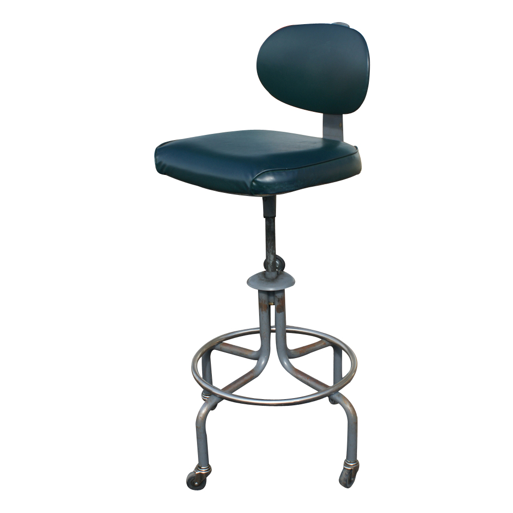 Image Result For Vintage Drafting Stool With Back