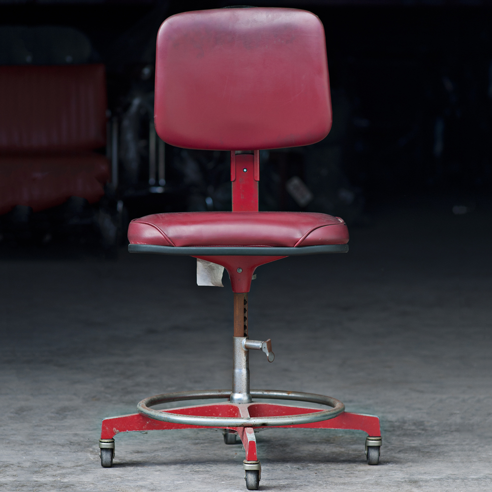 Cramer adjustable swivel drafting stool task chair ebay for Cramer furniture