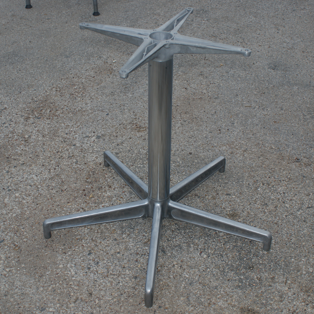 Chrome Dining Table Base 5 Star Chrome Base This Ad Is For 1 Base