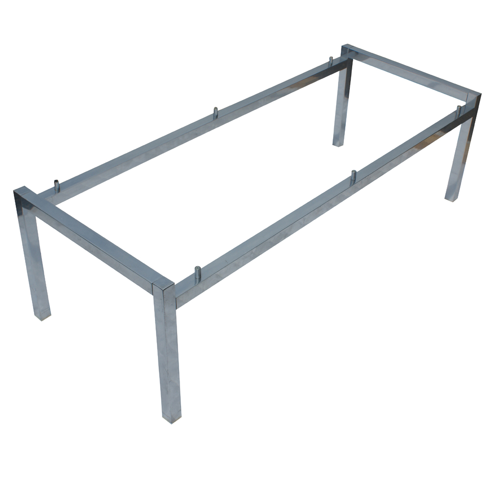 51 rectangular aluminum coffee table base ebay