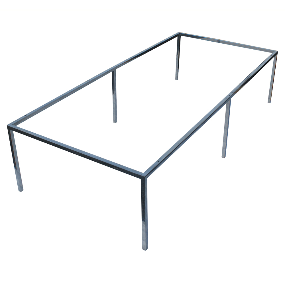 66 X30 Rectangular Stainless Steel Coffee Table Base