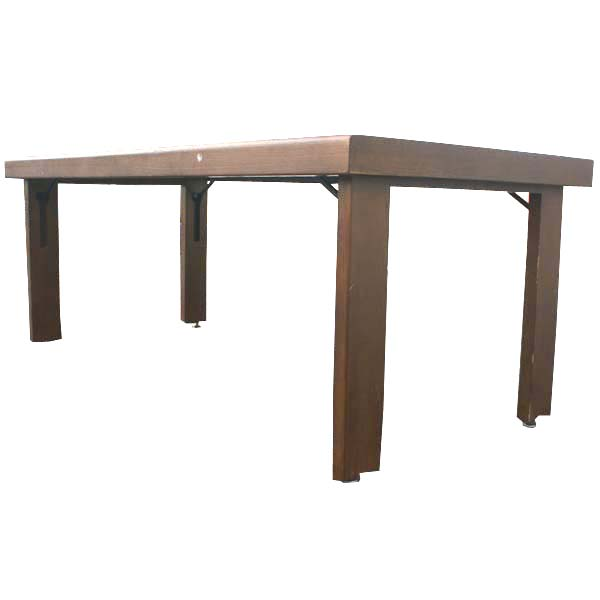 6 ft modern folding dining work conference table ebay - Foldable dining table ...