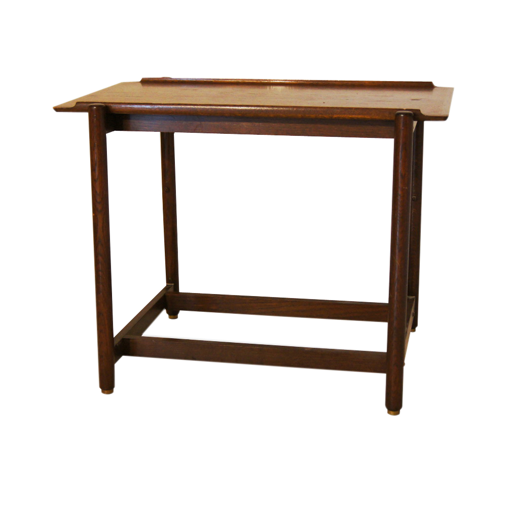 Midcentury retro style modern architectural vintage furniture from metroretro and mcm consignment - Expandable console tables ...