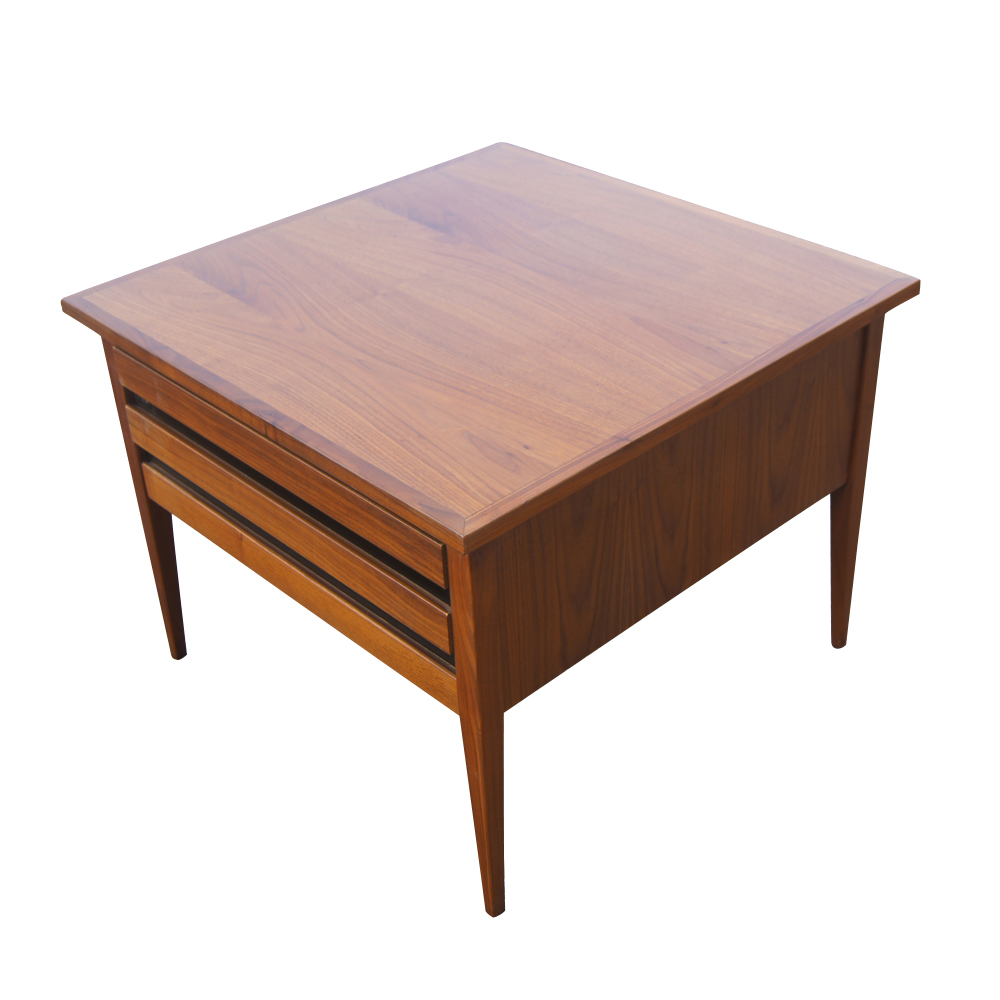 about vintage mid century modern danish style dillingham side table