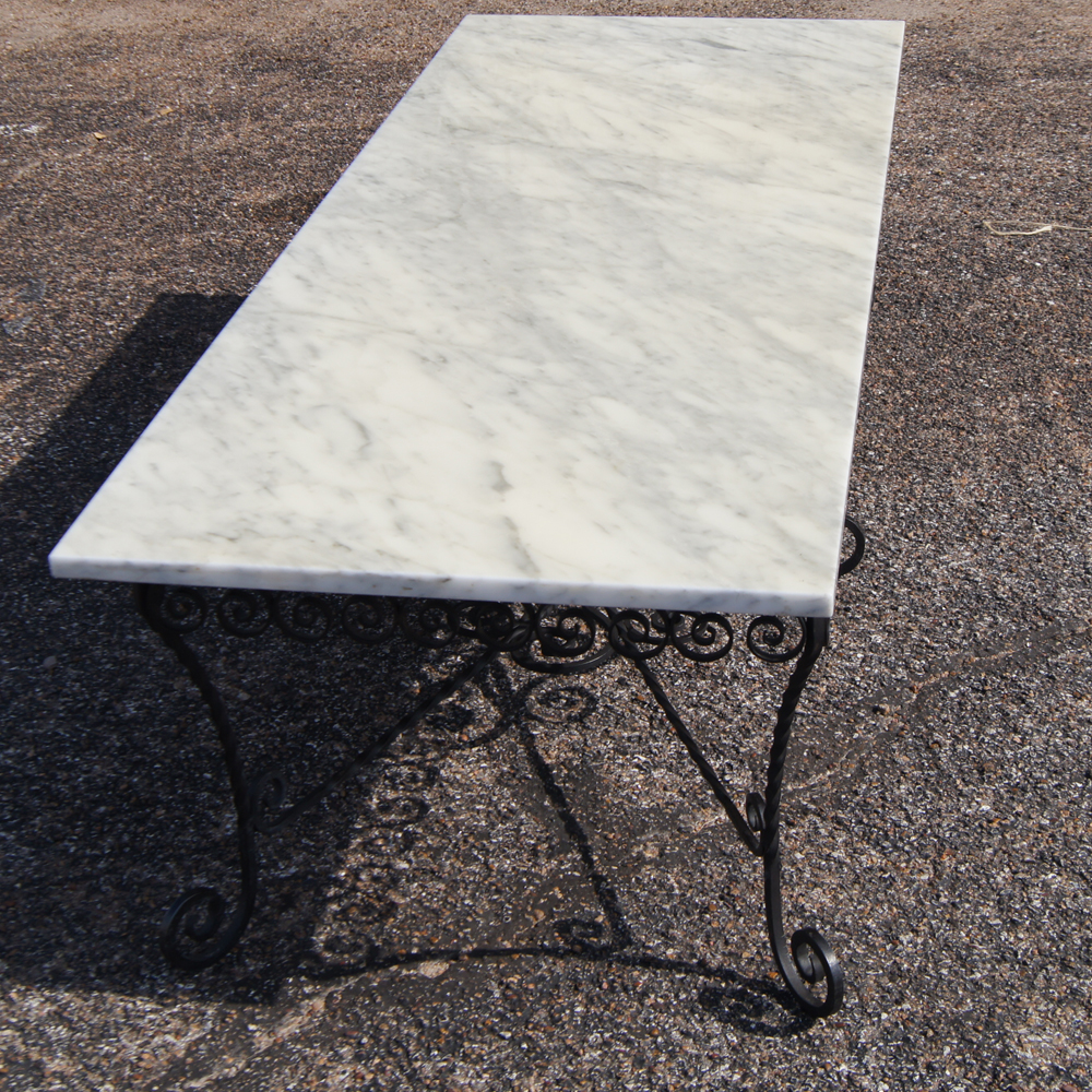 Perfect Wrought Iron and Marble Top Coffee Table 1000 x 1000 · 1117 kB · jpeg