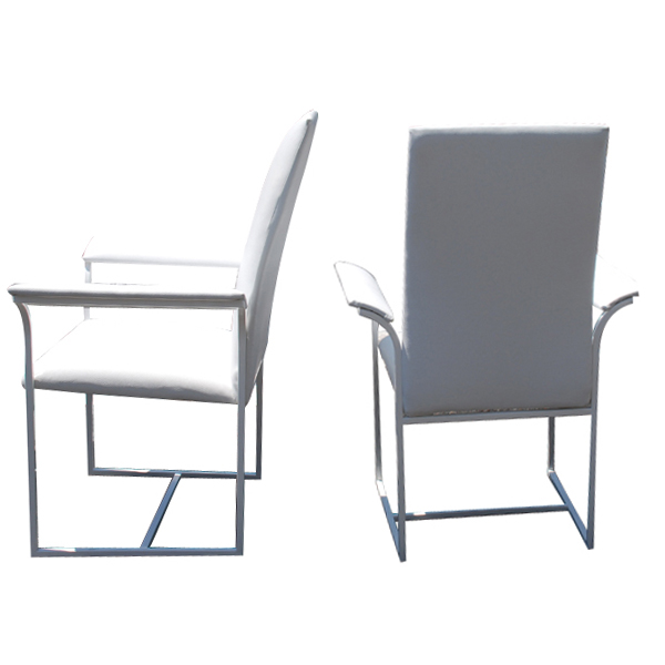 High Back Dining Arm Chairs Image Mag : ak36milobaughmandiningchairswhite05 from imagemag.ru size 600 x 600 jpeg 70kB