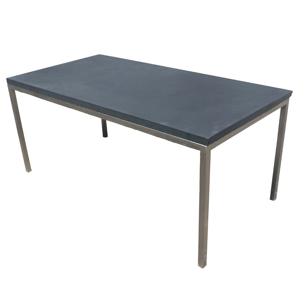 Dining table slate dining table top for Best html table