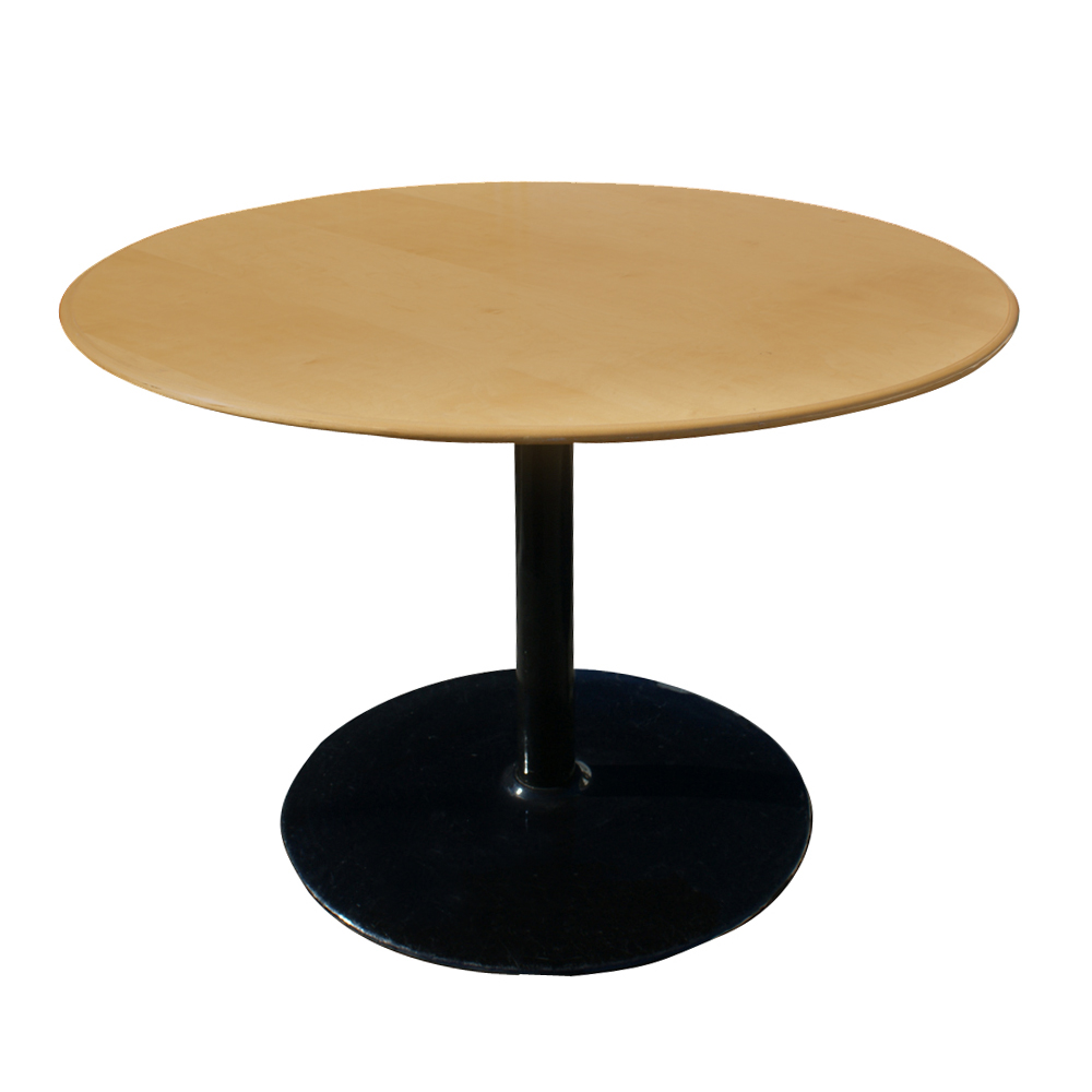 Details About 42 Round Mid Century Modern Knife Edge Dining Table