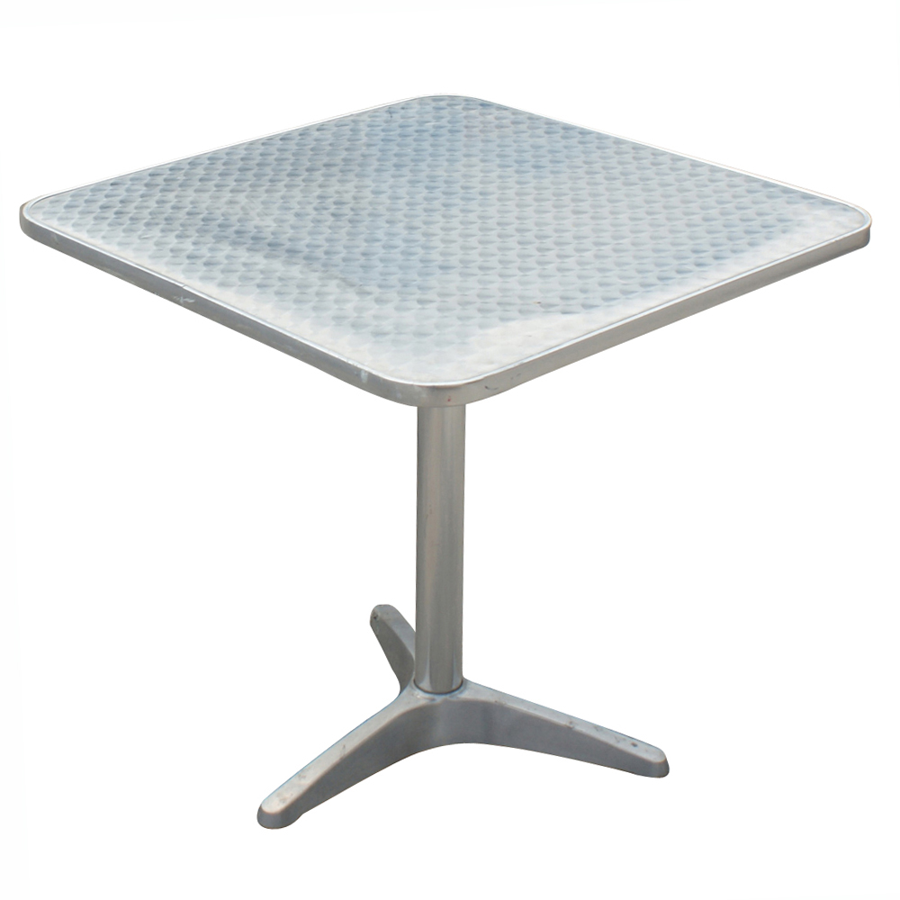 1 24 X24 Brushed Stainless Steel Cafe Table Mr10911