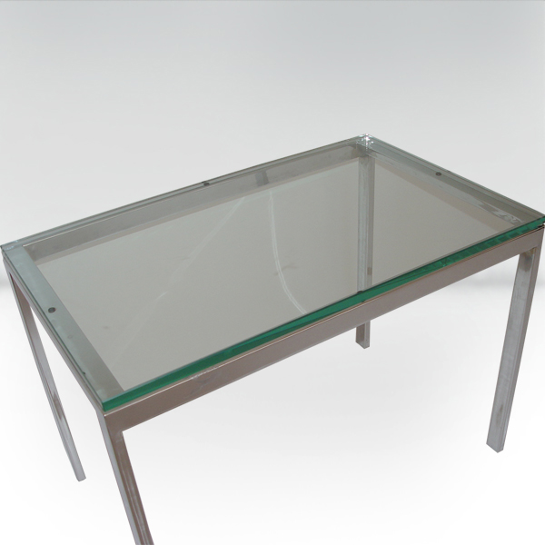 Roffman Mid Century Modern Glass Coffee Table Ebay