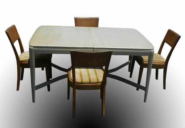 5ft vintage heywood wakefield solid wood dining table ebay