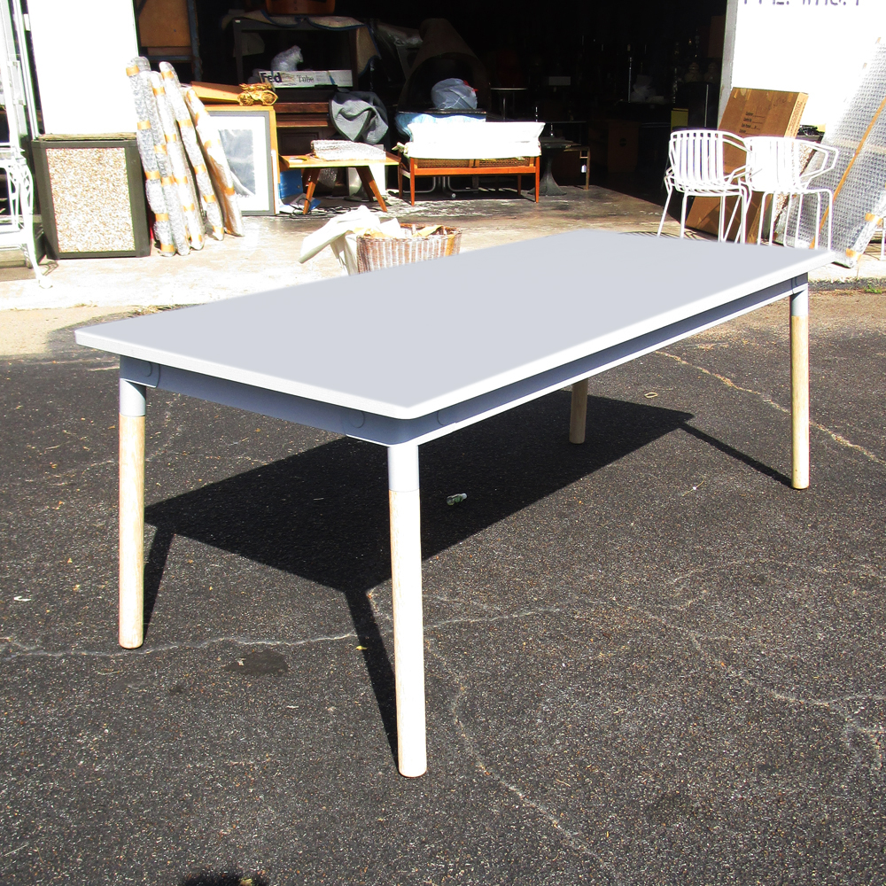 6 5 ft modern scandinavian wood dining table mr14741 for 10 ft dining table sale