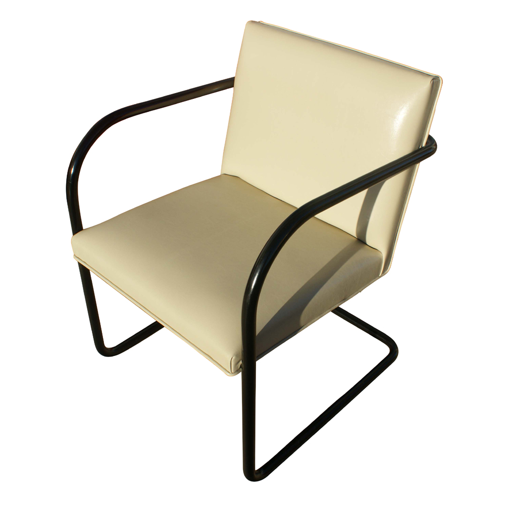 1 thonet mies van der rohe brno tubular side chair. Black Bedroom Furniture Sets. Home Design Ideas