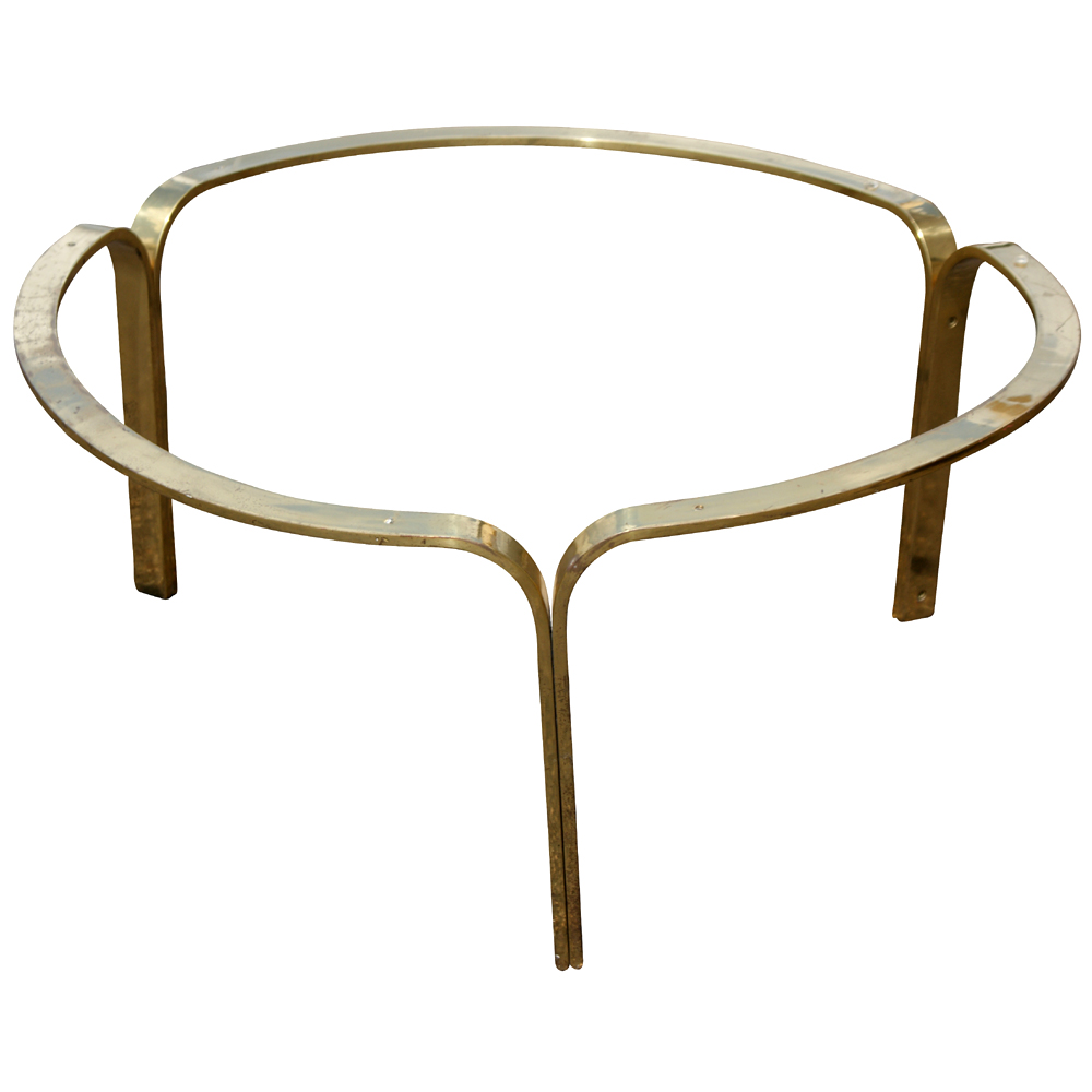30 Nicos Zographos Brass Ribbon Coffee Table Base Ebay