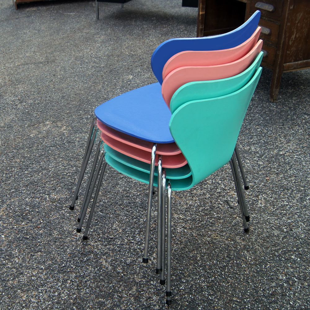 desks and chairs midcentury retro style modern architectural vintage 14699