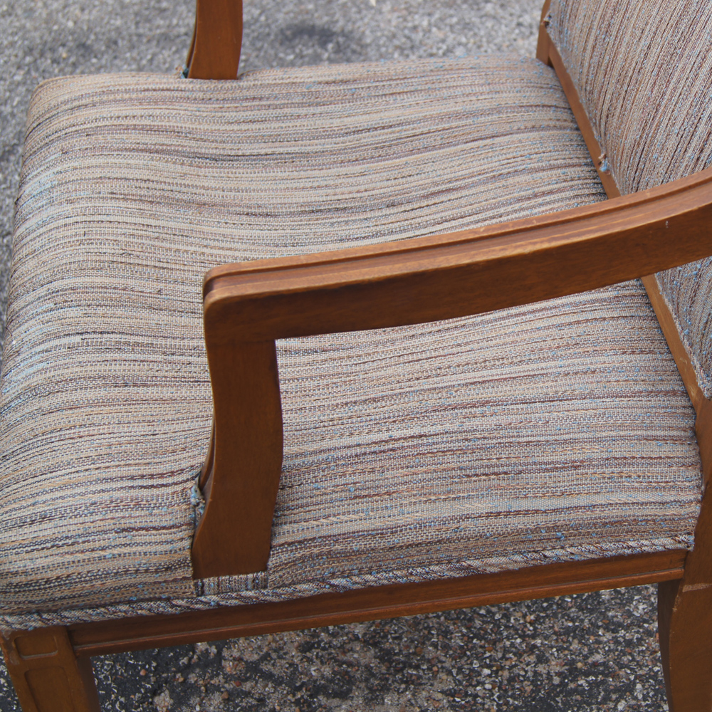 midcentury retro style modern architectural vintage 11629 | abt48tradarmchairswoodfabric06