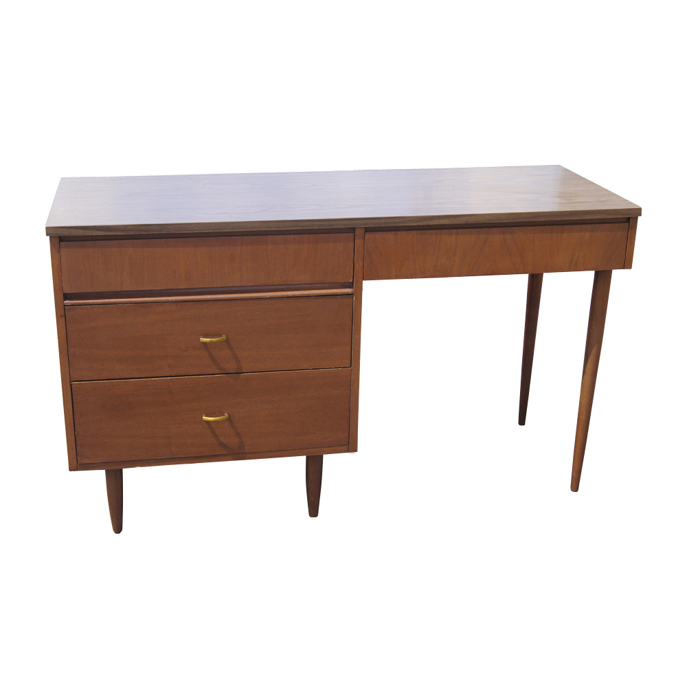 Midcentury Retro Style Modern Architectural Vintage Furniture Quote How Useful Vintage Modern Desk