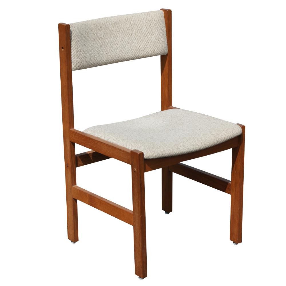 Vintage Danish Teak Extension Dining Table & 4 Chairs | eBay
